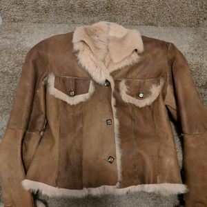 Fur /leather coat